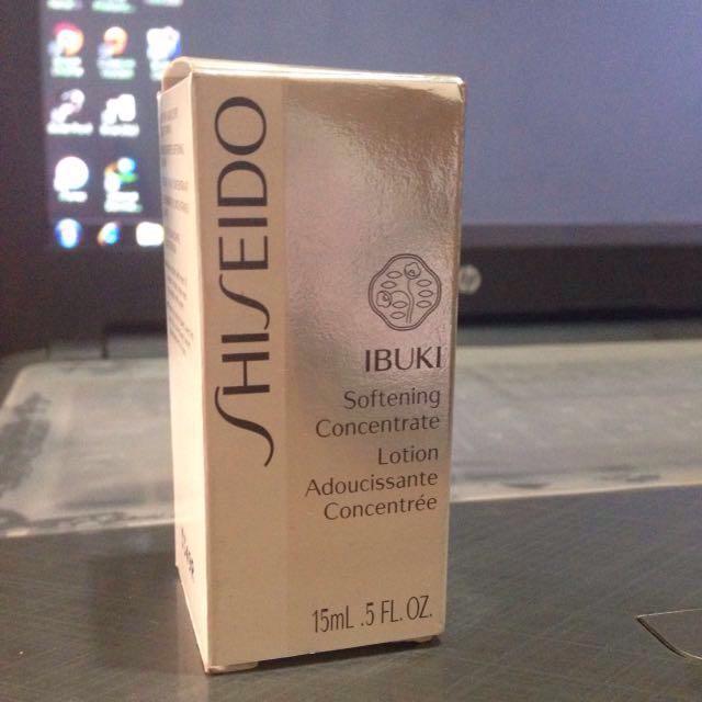 Shiseido Ibuki Softening Concentrate 15ml