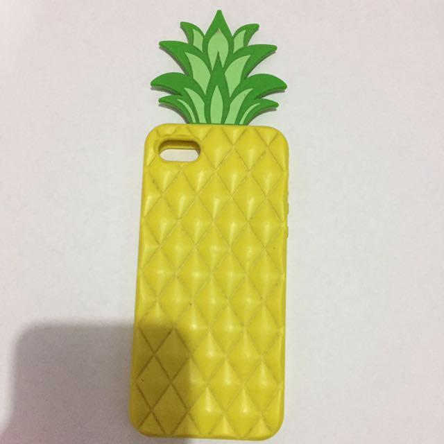 Silicone Pinapple Iphone 5 Case