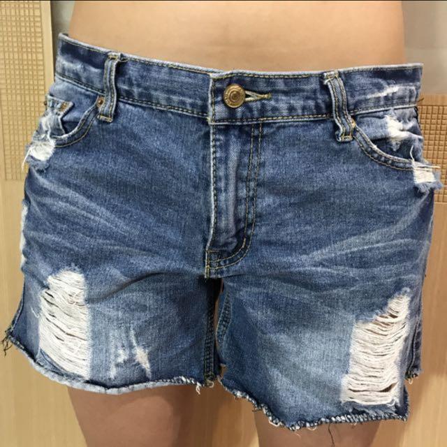 SINMAU 牛仔短褲 XL  #幫你省運費