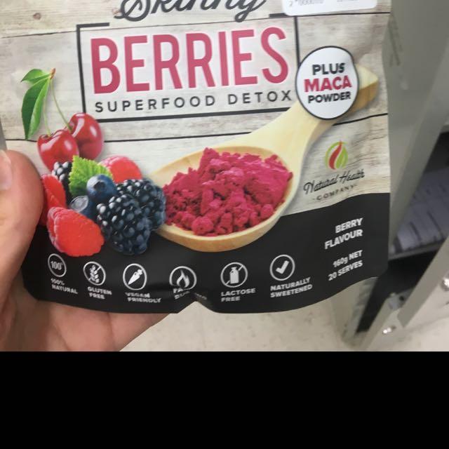 Skinny berries superfood detox