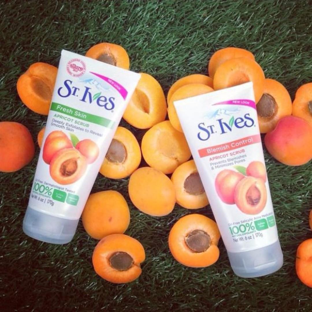 St Ives Apricot 100% ORI - PO Malaysia - Ready 14 Nov'17