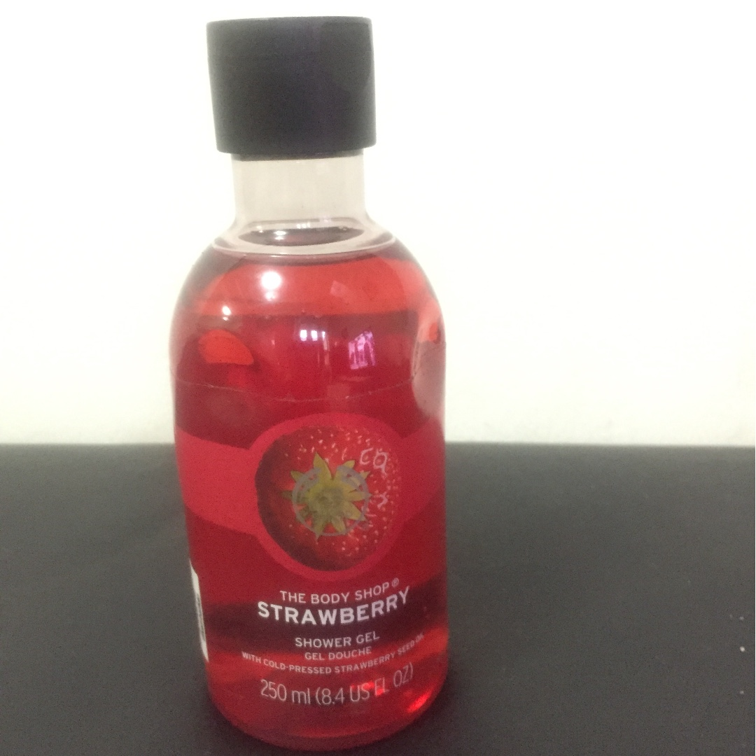 Strawberry Shower Gel The Body Shop Kesehatan Kecantikan Kulit Masker Beras Photo