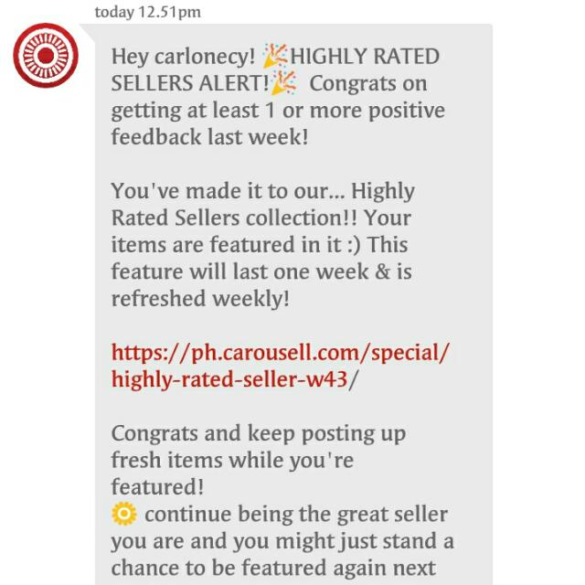Thank you Carousell & Buyers!!!