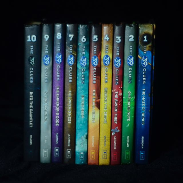 The 39 clues book set books books on carousell photo photo photo fandeluxe Images
