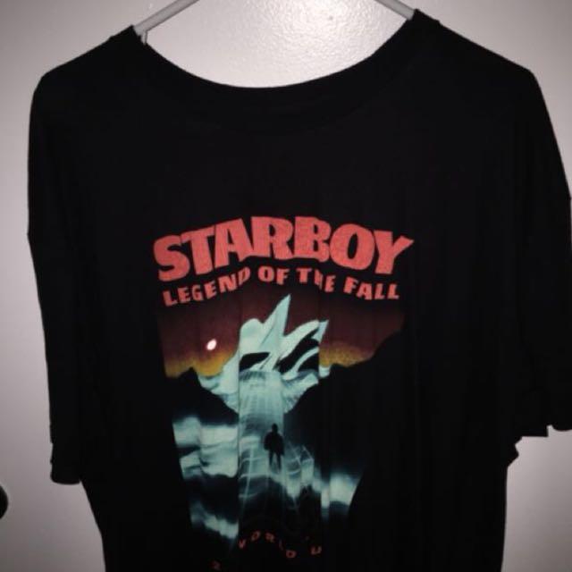 The Weeknd Tour Shirt