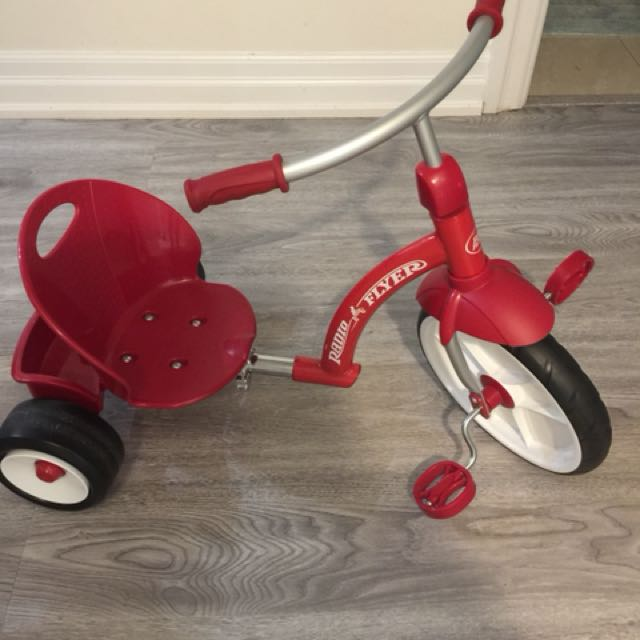 Toddler's Red Flyer bike