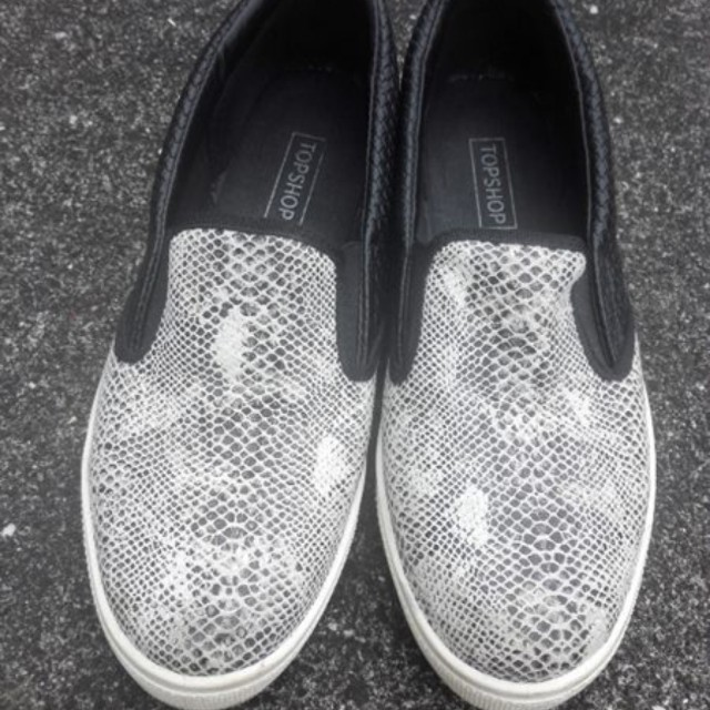 Topshop slip on shoes
