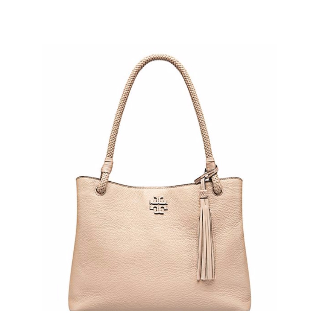 2086cca1b888 TORY BURCH TAYLOR TRIPLE-COMPARTMENT TOTE (SOFT CLAY)