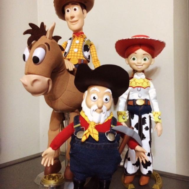 Toy Story Prospector Stinky Pete Movie Size