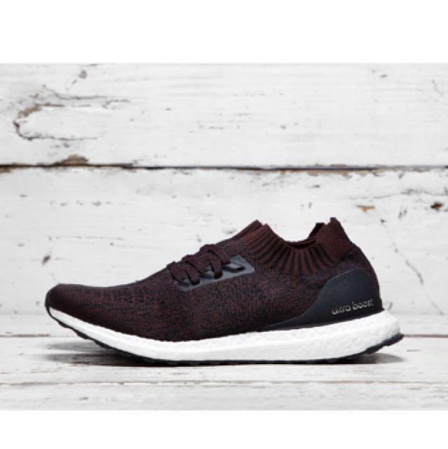 9bd5eca148d ... low cost uk 8 adidas ultra boost uncaged dark burgundy pk mens fashion  footwear on carousell