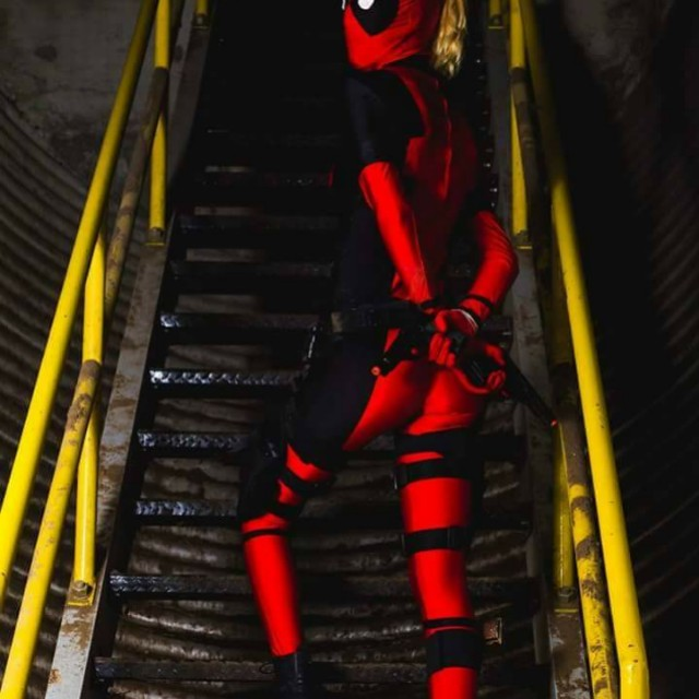 Unisex Deadpool Costume