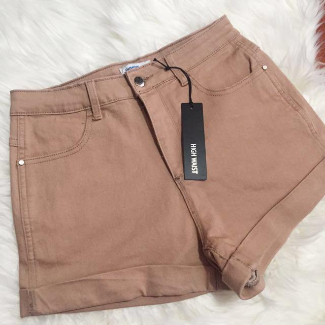 Valleygirl Blush/nude shorts