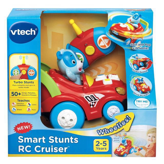 Toys R Us Boys Toys 7 10 : Vtech smart stunts remote control rc car toy babies