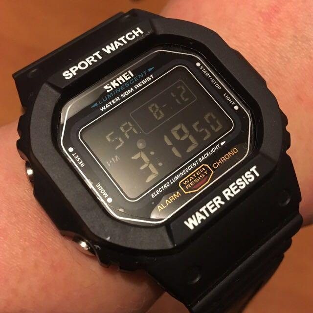 Water-resistant Sport Watch
