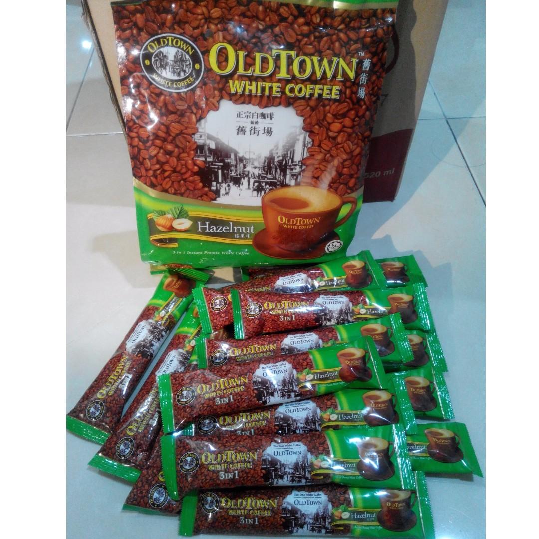 White Coffee Hazelnut - PO Malaysia - Ready 14 Nov'17