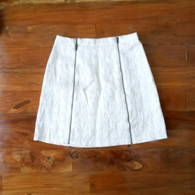 Xhiliration Zipper Skirt