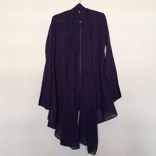 Zara Dark Purple Outer