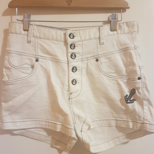 Zara TRF high waist shorts