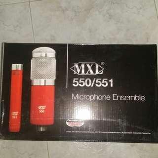 BNIB MXL 550/551Microphone Ensemble
