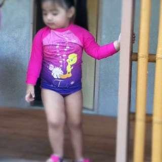 Tweetybird Rash guard Swimsuit (kids)