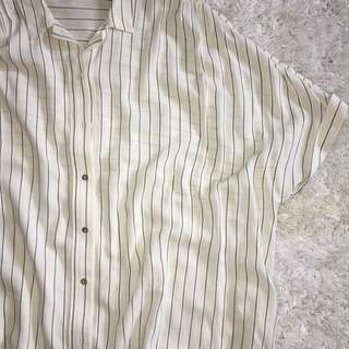 NWOT ZARA striped shirt/dress