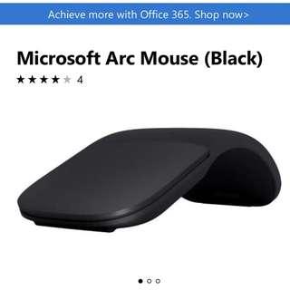 Microsoft Arc Mouse 2017 Black