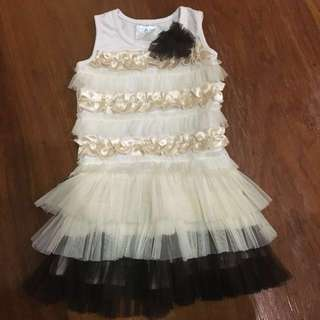 Cute white dress for 6-18 months