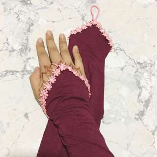 Flower Ring Handsocks
