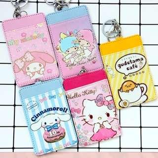 🎠 Cartoon Ezlink / Card holder - #TwinStars #Melody # Gudetama #HelloKitty #Chip&Dale #Cinnamonroll #MonsterInc #TsumTsum