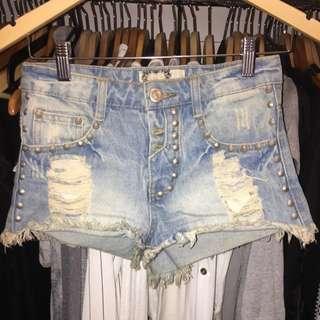 BOOHOO Denim Shorts