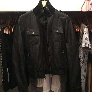 Topshop Faux Leather Jacket