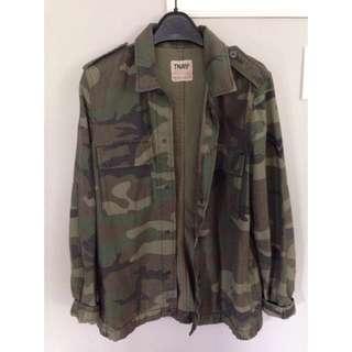 Aritzia TNA Camouflage Jacket - Size Small