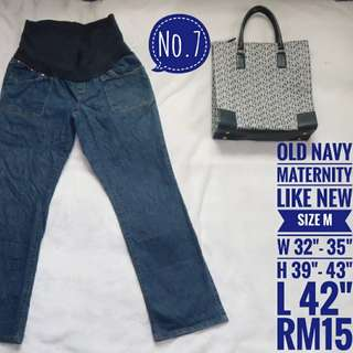 No.7 Maternity Pants