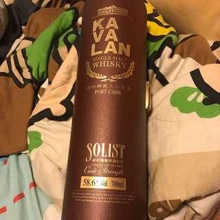 Kavalan - PORT CASK -Solist 有意可問