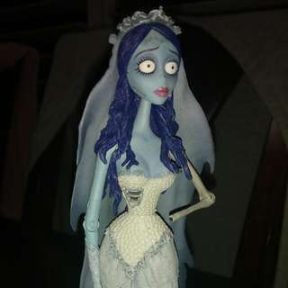 Corpse Bride, Nightmare Before Christmas Figures