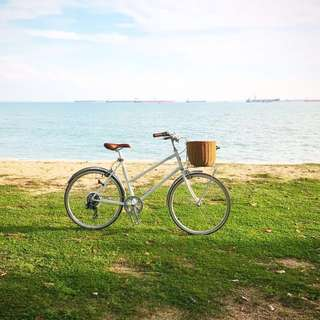 Tokyo Bike Bisou S Shimano Gears White