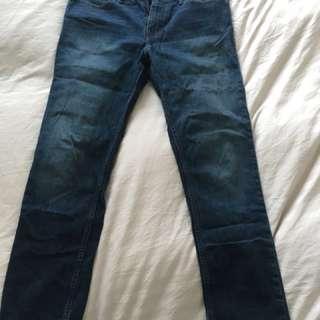 Calvin Klein Jeans men's dark wash Slim Straight W31/L32