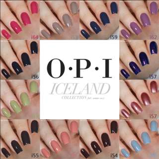 Opi Gel Polish with 12 Colors Available