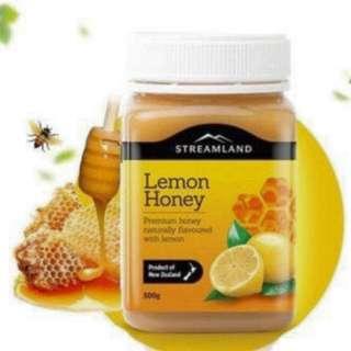 爸爸去哪兒指定品牌—紐西蘭Streamland Lemon Honey🍋🐝