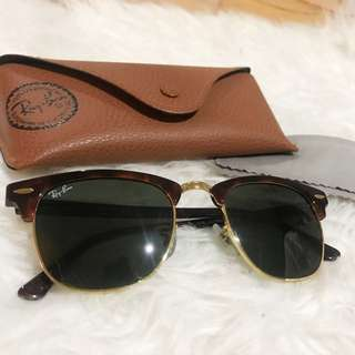 REDUCED Rayban Clubmasters