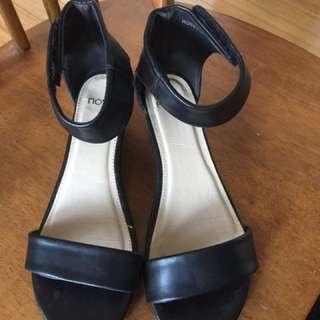 Gladiator Sandal Size 7-worn once