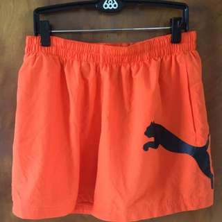 Puma exercise shorts