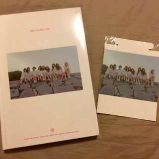 Twice 1st PHOTOBOOK「ONE IN A MILLION」