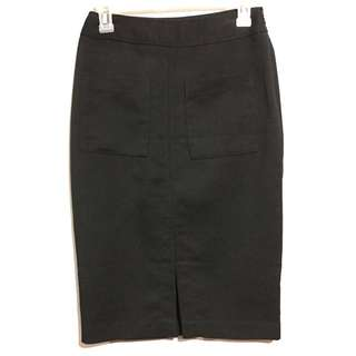 Forever21 black pencil skirt