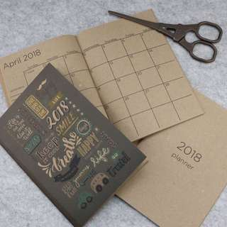 [READY STOCK!] 2018 Pocket Planner | Life is a One Time Offer