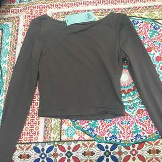 Long sleeve kookai top