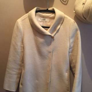 Beige D.K Club fall jacket