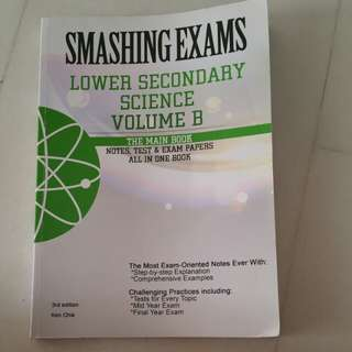 Smashing Exams Lower Swcindary Science Vol B