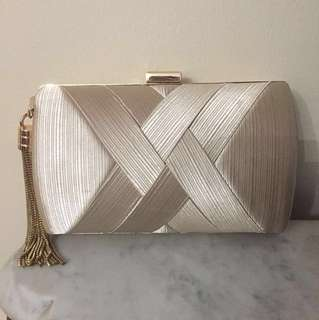 Marciano gold clutch
