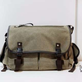 Waterproof Canvas  DSLR Camera Bag